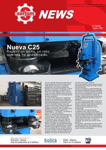Nueva C25 - Sertom