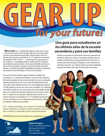for your future! - State Council of Higher Education for Virginia