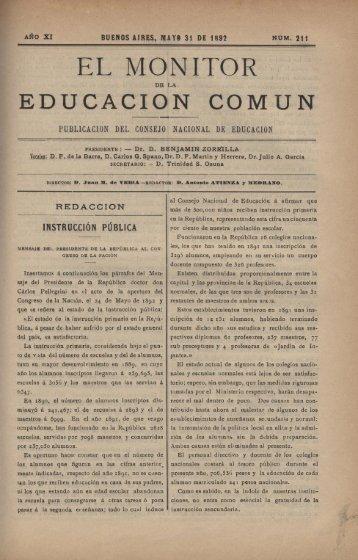 EL MONITOR - Repositorio Institucional del Ministerio de Educación ...