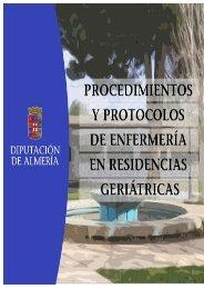 Protocolos y Procedimientos de Enfermeria - Diputación Provincial ...