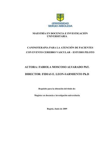 Descargar el documento completo (PDF) - Universidad Sergio ...
