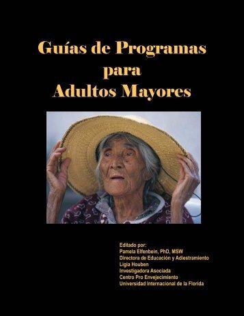 Guías de Programas para Adultos Mayores