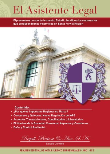 EL Asistente legal 2 - Regali y Asociados