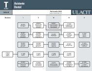 Asistente Dental - Ulacit