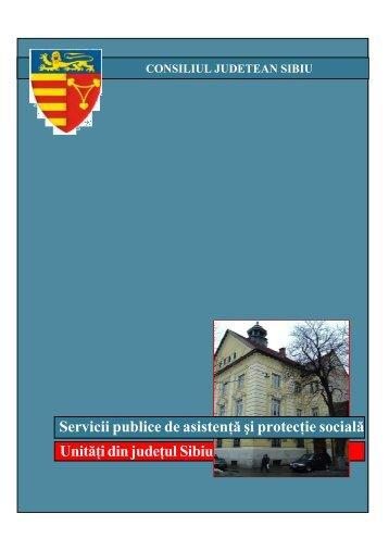 Servicii publice de asistenta si protectie sociala.Unitati - Consiliul ...