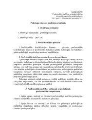 Psihologa asistenta profesijas standarts 1. Vispārīgie jautājumi 1 ...