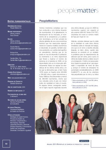Anuario - PeopleMatters