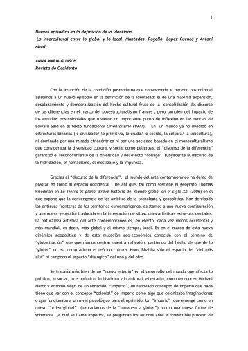 Revista de Occidente - Historia Sociocultural del Arte 1 a 3
