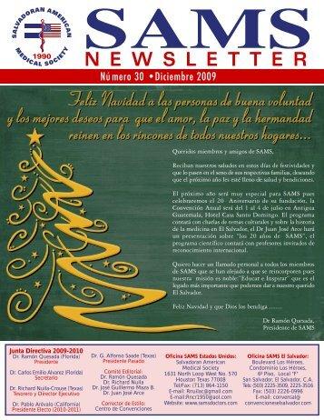 Número 30 - Diciembre de 2009 - SAMS Salvadorean American ...