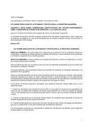 Ley sobre Disolución de Latifundios y Protección a la Industria ...