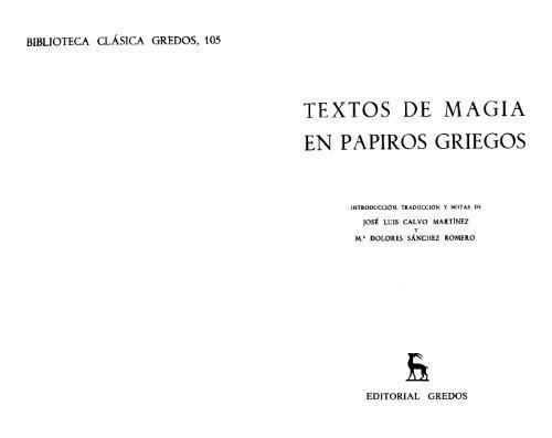 Textos Papiros Magia Antigua Historia En Griegos De PTOkXiZu