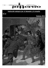 Publicación anárquica por el desmadre y la revuelta Nº 4 Invierno ...