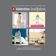 Carta de colores Inspira - Valentine