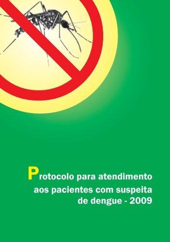 Protocolo para atendimento aos pacientes com suspeita de dengue