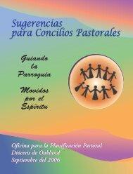 Organizando su Concilio Pastoral - Diocese of Oakland