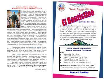 Pastoral Familiar - Saint John´s Villa Academy