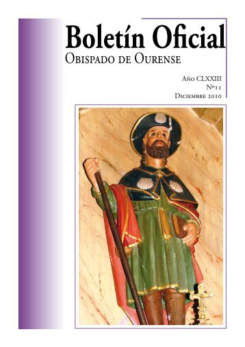 Boletín Oficial del Obispado de Ourense - Diciembre 2010