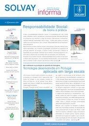 informa - Solvay em Portugal