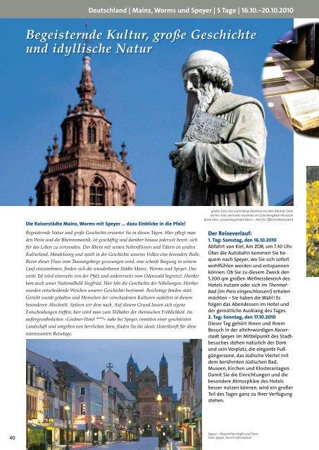 Begeisternde Kultur, große Geschichte und idyllische ... - Russ Reisen