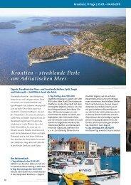 Kroatien – strahlende Perle am Adriatischen Meer - Russ Reisen
