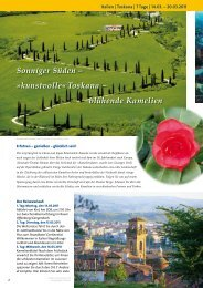 Toskana – blühende Kamelien - Russ Reisen