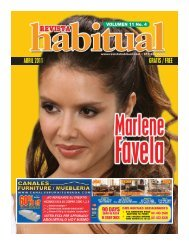 Abril 2011 - Revista Habitual