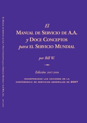 manual - ALCOHOLICOS ANONIMOS