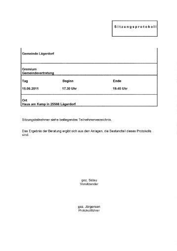 Die Abgrenzung konfllktarmer Standorte nach ... - Amt Breitenburg