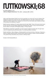 Available artworks, FILIPPO MINELLI at Ruttkowski68.indd