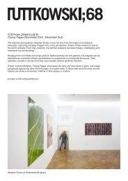 Available artworks, STEPHAN ZIRWES at Ruttkowski68.indd