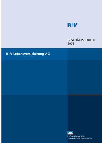 R+V Lebensversicherung AG - R+V Versicherung