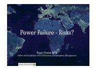 Power Failure - Risks? - R+V Versicherung