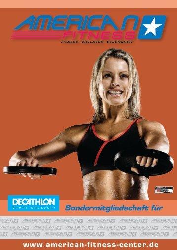 Starten Sie jetzt Ihr Fitness - American Fitness