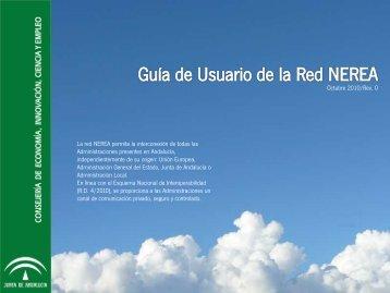 Guía Rápida de NEREA para Entidades Locales - Junta de Andalucía