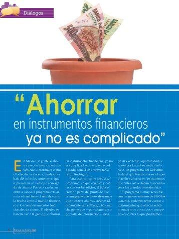 en instrumentos financieros - Condusef