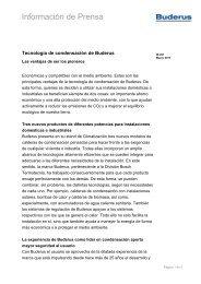 Descargar el pdf - Buderus