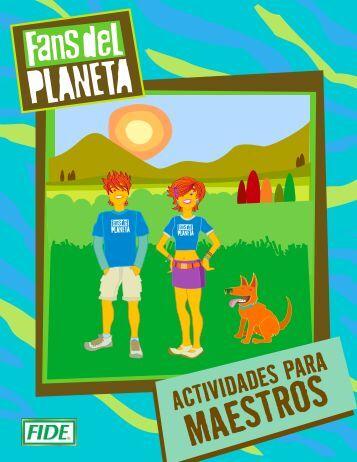 Actividades para maestros - Fans del Planeta