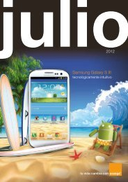 Revista julio 2012 - Acerca de Orange