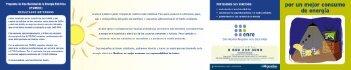 Programa de Uso Racional dela Energía Eléctrica - Ente Nacional ...