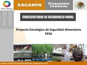 PESA - Sagarpa