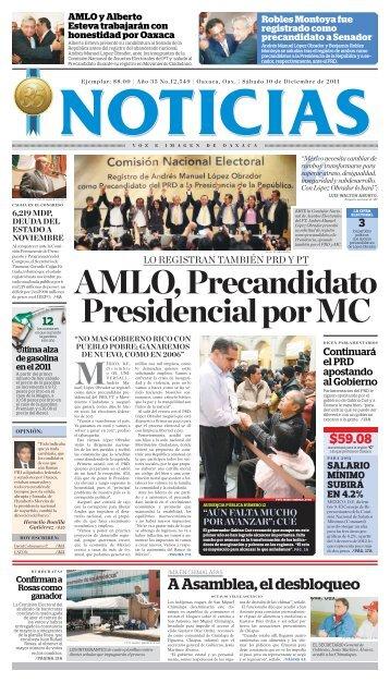 diciembre 2011 - Noticias Voz e Imagen de Oaxaca