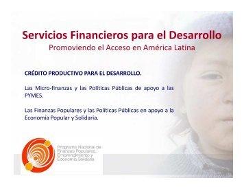 PNFPEES - Corporación Nacional de Finanzas Populares y Solidarias
