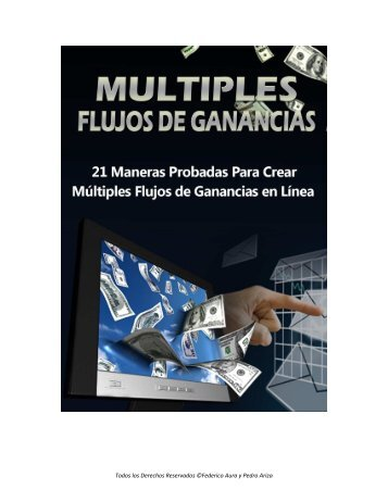 Multiples Flujos de Ganancias - Vitcenter