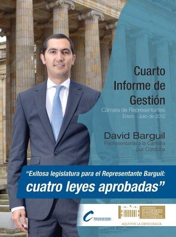 Informe de Gestión - David Barguil