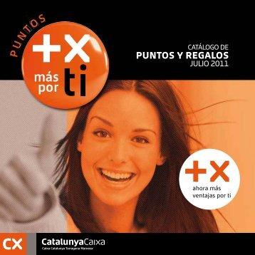 Descargar Catálogo - CatalunyaCaixa