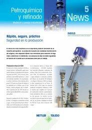 Petroquímica y refinado - Mettler Toledo