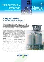 Petroquímicas y Refinerías - METTLER TOLEDO