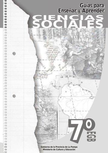 Ciencias Sociales- Guias para Enseñar y Aprender - Ministerio de ...
