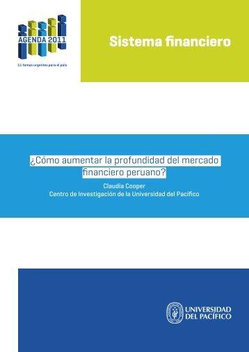 ¿Cómo Aumentar La Profundidad Del Mercado ... - Agenda 2011