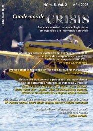 Num 5 - Vol 2 - 2006 - Cuadernos de Crisis
